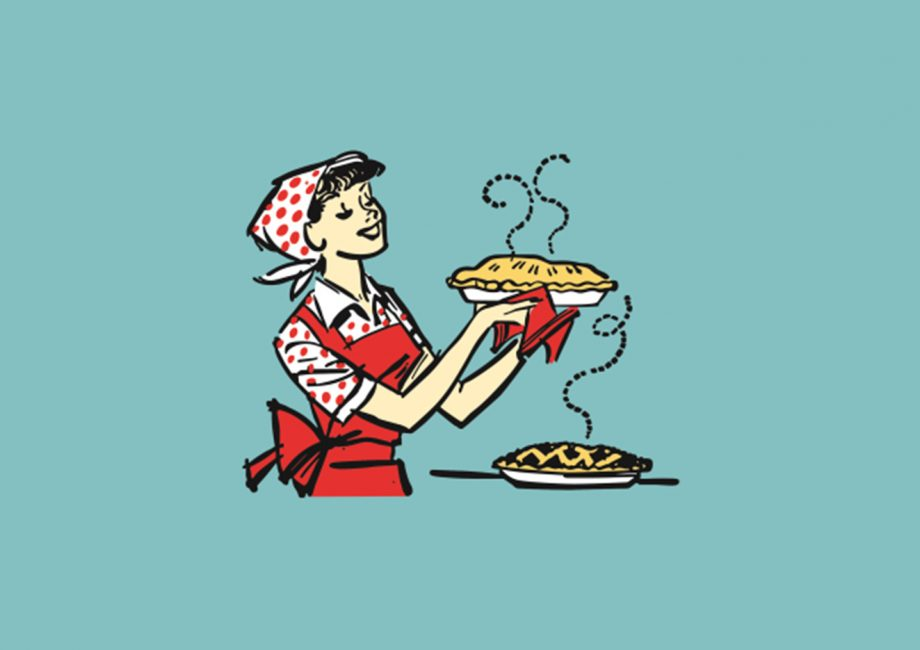 The Pie Lady on 5 Website